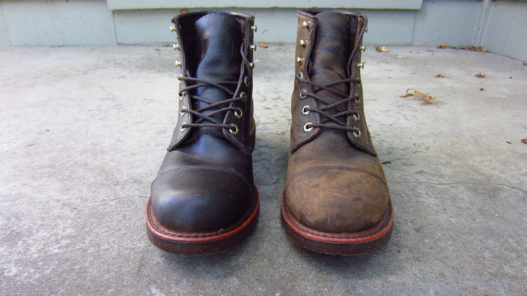 How to Darken Leather Boots 1