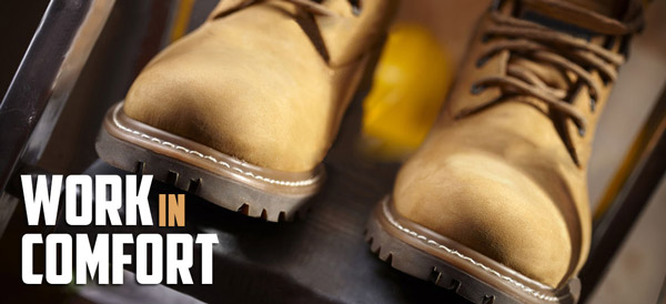 Composite vs. Steel Toe Shoes comfort