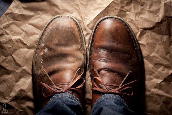 How to Clean Soft Leather Shoes newspaper