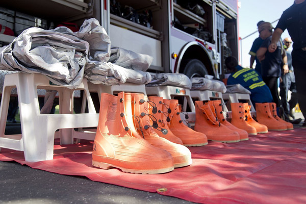 What Type of Footwear that Protects your Entire Foot firefighters
