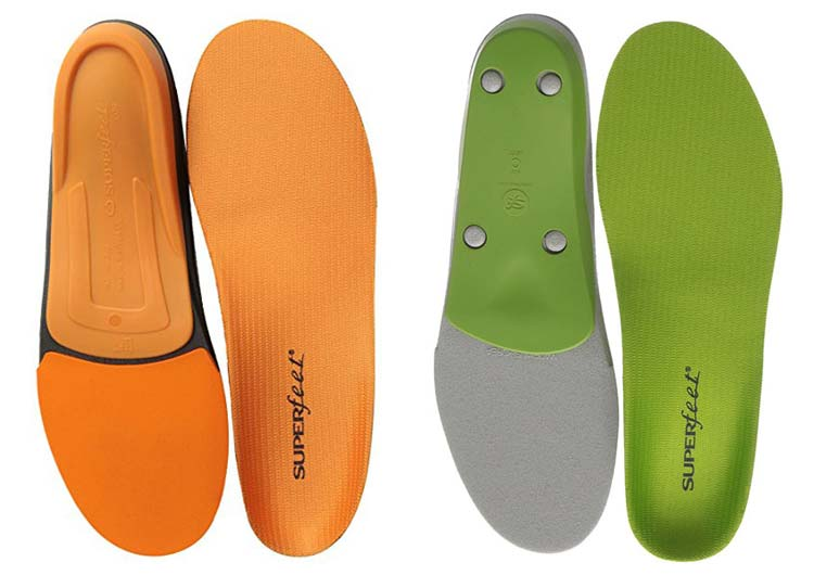 Superfeet Green vs. Orange: What is the Difference?