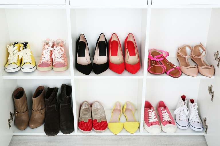 Twenty-One Shoe Storage Hacks That Save Space and Your Sanity