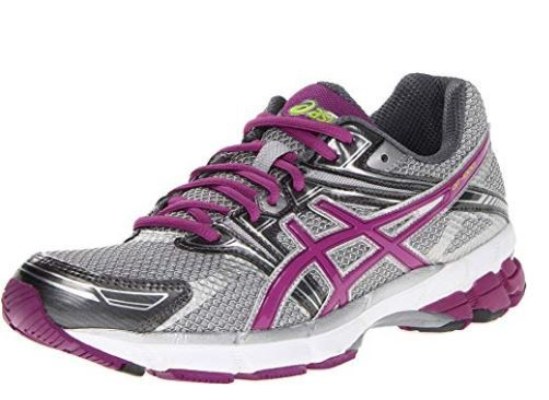 best running shoes for flat feet with Rearfoot and forefoot GEL cushioning systems