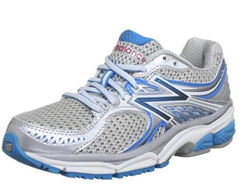 best running shoes for flat feet featuring Lace-up running shoe in breathable mesh with padded tongue and collar