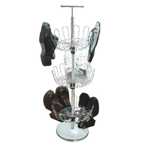 shoe storage hacks features perfect in closet or next to dresser,3 tiers- each holds 6 pairs of shoe