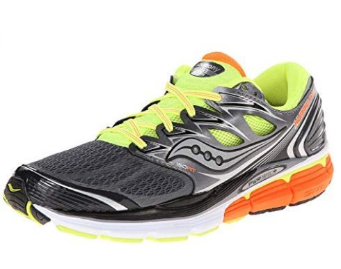 best running shoes for flat feet featuring breathable mesh upper with synthetic overlays and PWRGRID+ midsole delivers for impact protection