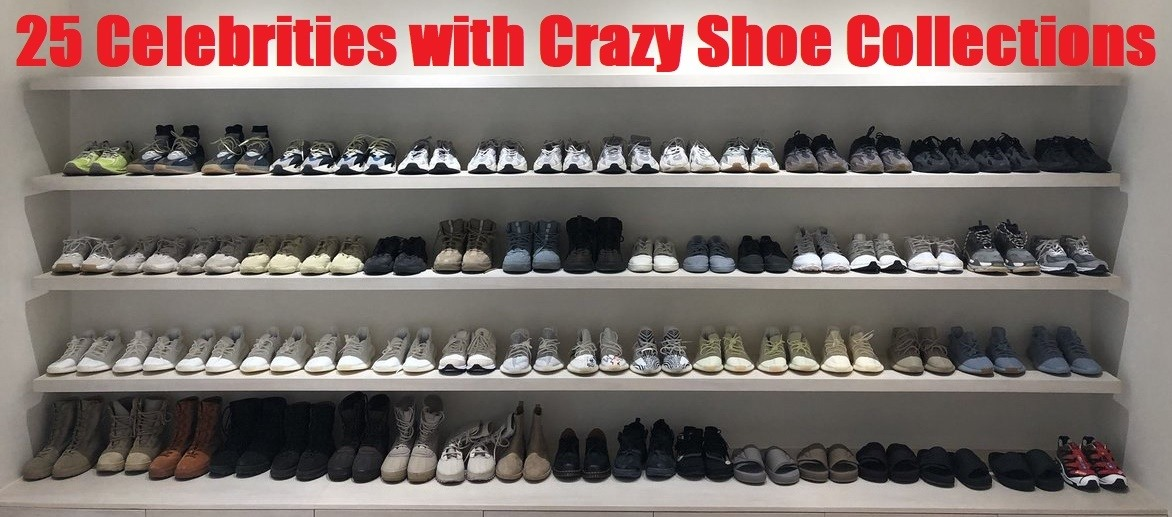 25 Celebrity Shoe Collection