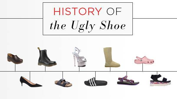 history of shoes - ugly shoes