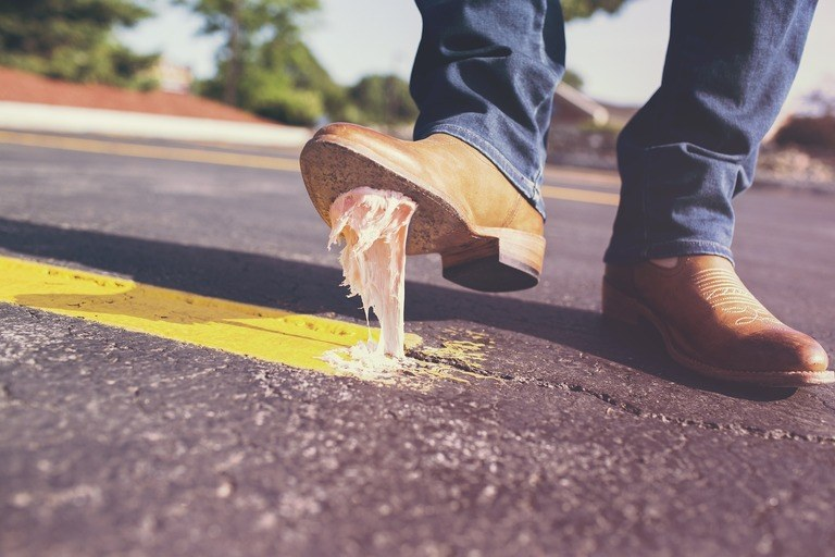 How To Get Gum Off Shoes Without Destroying Them