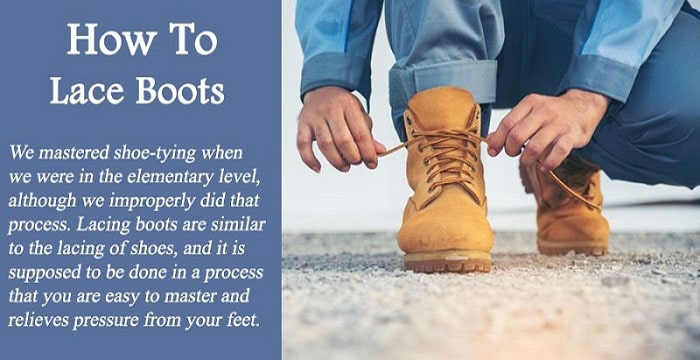How To Lace Boots